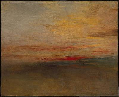 Sunset Painting - Sunset  by Joseph Mallord William Turner