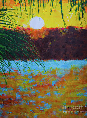 Painting - Sunset Key I by Art Mantia