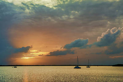 Photograph - Sunset, Key Largo by Dana Sohr