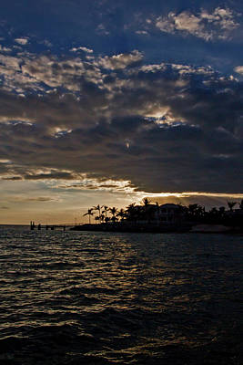 Photograph - Sunset Key Sunset by Bob Slitzan