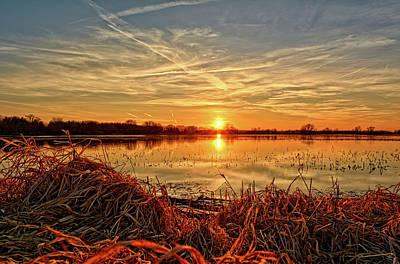 Photograph - Sunset Knoll by Bonfire Photography