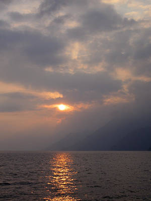 Photograph - Sunset Lake Atitlan by Kurt Van Wagner