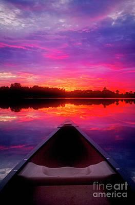 Photograph - Sunset Lake by Scott Kemper