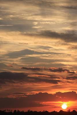 Photograph - Sunset Layers by AR Annahita