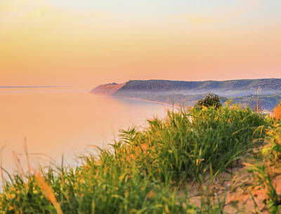 Photograph - Sunset Light On Sleeping Bear Dunes by Dan Sproul