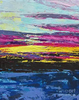 Painting - Sunset by Lisa Dionne