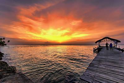 Photograph -  Sunset Love by Nadia Sanowar