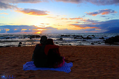 Sunset Lovers Original by Michael Rucker
