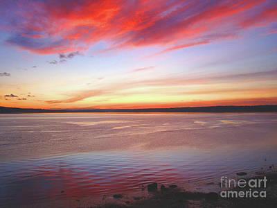 Photograph - Sunset  by Lydia L Kramer