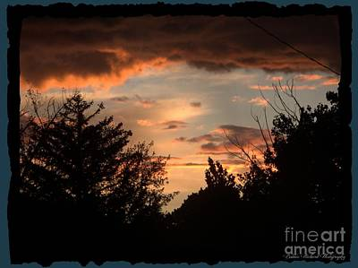 Photograph - Sunset Magic by Bobbee Rickard