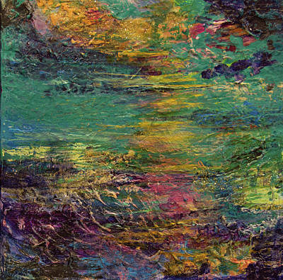 Mixed Media - Sunset Magic by Paper Jewels By Julia Malakoff