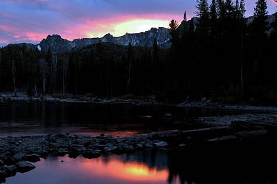 Photograph - Sunset Mammoth Lakes by Chris LeBoutillier