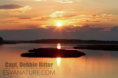 Photograph - Sunset Marsh 7465 by Captain Debbie Ritter