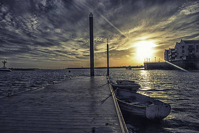 Nature Scene Photograph - Sunset by Martin Newman