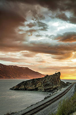 Photograph - Sunset by Matt Skinner
