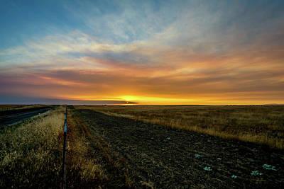 Photograph - California Sunset by Matthew Chapman