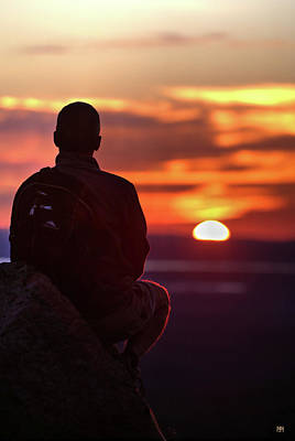 Photograph - Sunset Meditation by John Meader