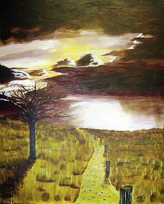 Painting - Sunset by Michael McKenzie