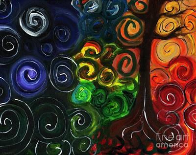 Sunset Moonrise II Art Print by J M Lister