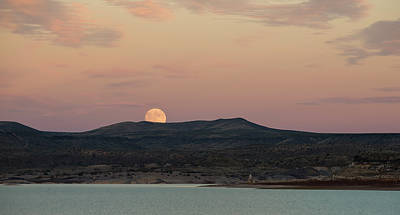 Photograph - Sunset Moonrise by Loree Johnson