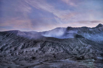 sunset Mount Bromo - Java Art Print by Joana Kruse