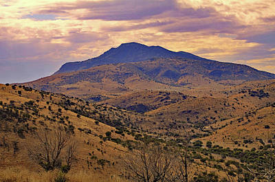 Photograph - Sunset Mtn., Ft. Davis Tx by Michael Ziegler