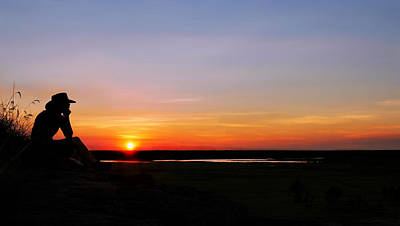 Photograph - Sunset Nabad Plains - Kakadu National Park by Lexa Harpell