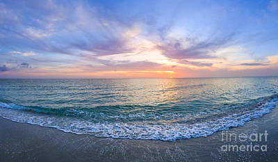 Photograph - Sunset Naples Fl by Hans- Juergen Leschmann