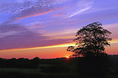 Photograph - Sunset Near Rhos-hil by Tony Murtagh