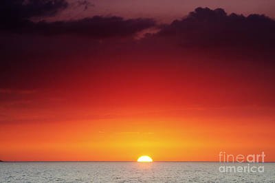 Sunset North Shore Art Print