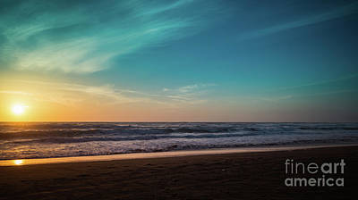 Photograph - Sunset Northern Mendocino Coast by Blake Webster