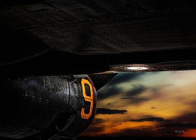 Photograph - Sunset Number 9 Consolidated B-24 Liberator by Bob Orsillo