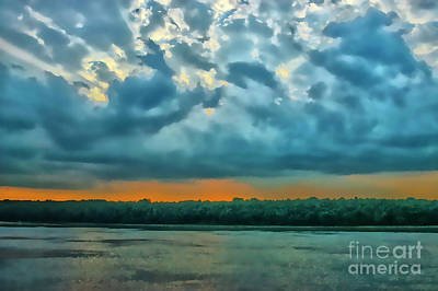 Photograph - Sunset Ob The Danube by Rick Bragan