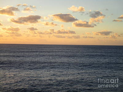 Photograph - Sunset Ocean 3 by Randall Weidner