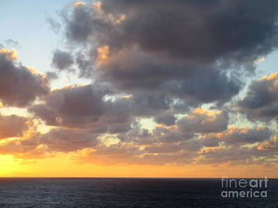 Photograph - Sunset Ocean 4 by Randall Weidner