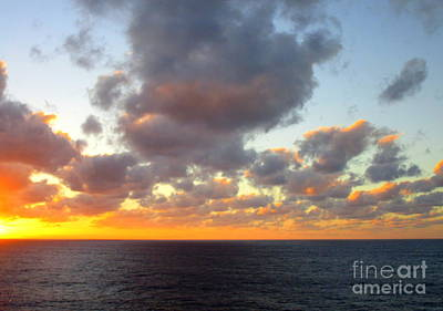 Photograph - Sunset Ocean 5 by Randall Weidner