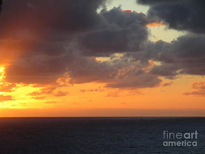 Photograph - Sunset Ocean 6 by Randall Weidner