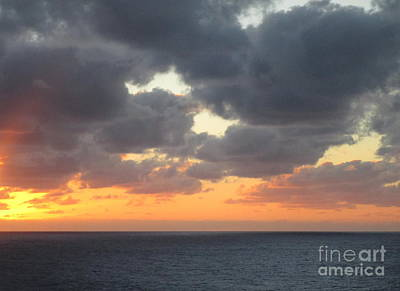 Photograph - Sunset Ocean 7 by Randall Weidner