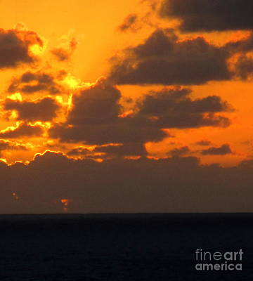 Photograph - Sunset Ocean 9 by Randall Weidner