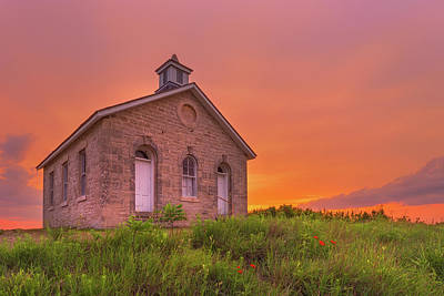 Photograph - Sunset Of 1882 by Darren White