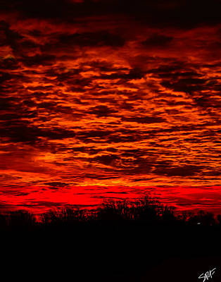 Digital Art - Sunset Of New Mexico by Savannah Fonner