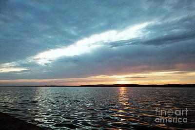 Czintos Photograph - Sunset Of Velence Lake by Odon Czintos
