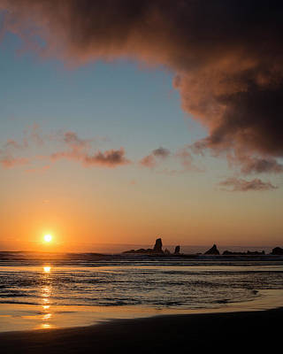 Photograph - Sunset Off Ecola Point by Robert Potts