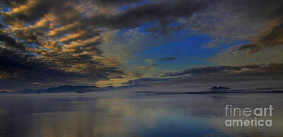Photograph - Sunset On A Fjord by Lennie Malvone