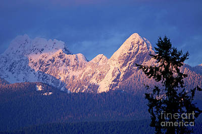 Photograph - Sunset On Blanchard Peak by Sharon Talson