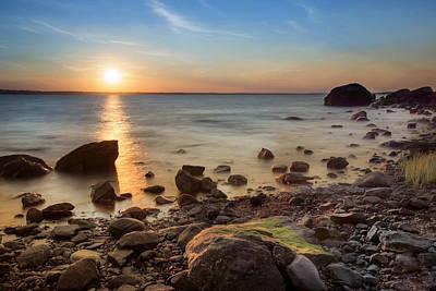 Photograph - Sunset On Boulder Beach by Robin-Lee Vieira