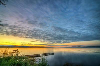 Photograph - Sunset On Boulevard Bluffs by Spencer McDonald
