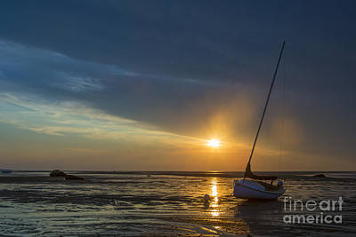 Cape Cod Photograph - Sunset On Cape Cod by Diane Diederich