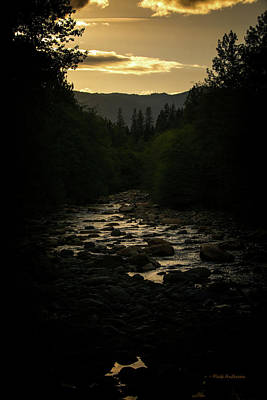Photograph - Sunset On Castle Creek by Mick Anderson