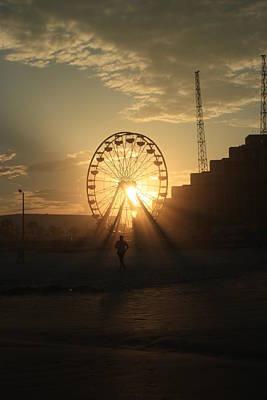 Photograph - Sunset On Daytona Beach by Mandy Shupp